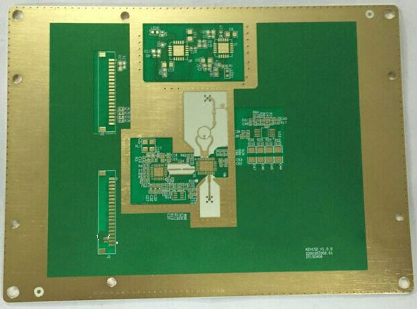 4-layer FR4+Rogers PCB