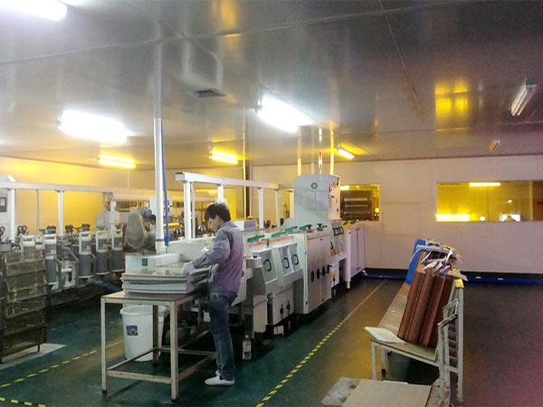 dry film pre-treatment machine