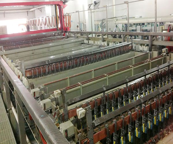graphical plating line
