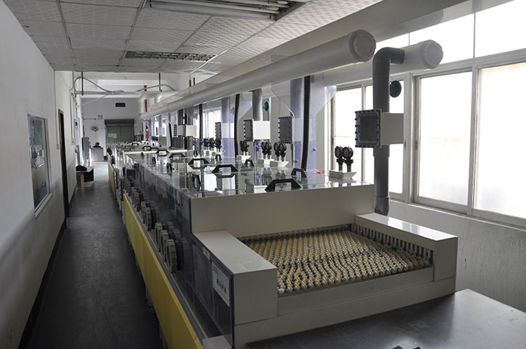 inner layer brown oxide line