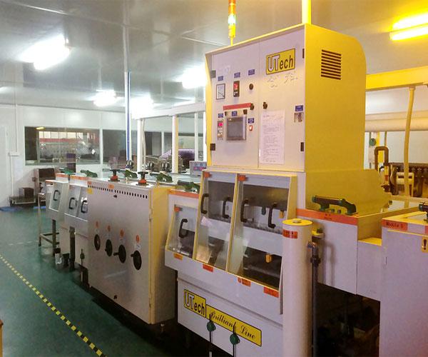 solder pre-treatment machine