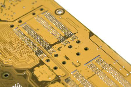 yellow PCB solder mask