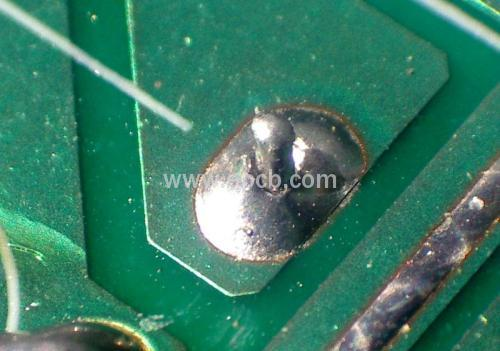PCB solder joint