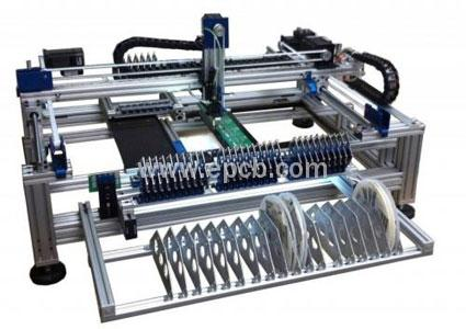 PCB automated component pick-and-place machine